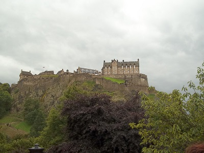Edinburgh Castle (photo by D.L. McEachron)