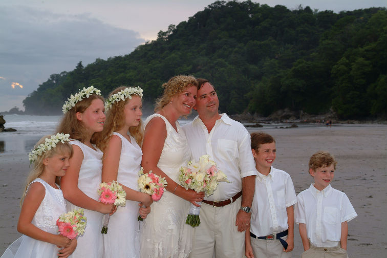 Quepos wedding